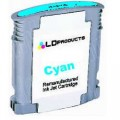 HP11 C4836Ae Cyan inktcartridge met chip 28ml