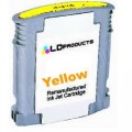 Hp11 C4838Ae Yellow inktcartridge - chip 28ml