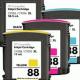 Inkt navulset HP88(XL)