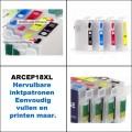 Hervulbare 18XL inktpatronen met ARC chip