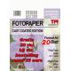 Fotopapier High Glossy  180 grs. 20 vel