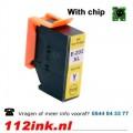 202XL Yellow inktpatroon met chip