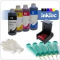Inkt navulset HP350/351(XL B&C) inktpatronen