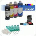 Navulset inkt voor het navullen van HP300(xl) B/C inktcartridges (NVS4-300+)