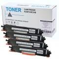 THS350set Set 4X alternatief Toner voor Hp 130A