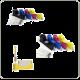 Refill adapters voor het navullen van HP364 inktpatronen (REF4-364)
