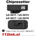 Chipresetter LC-3219XL LC-3217 inktpatronen